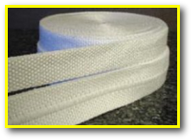 Heat Resistant Tape - high temperature flame fire resistant ceramic fiber thermal insulating tape