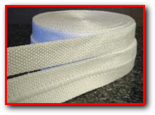 Heat resistant tape high temperature flame fire for Is fiberglass insulation fire resistant